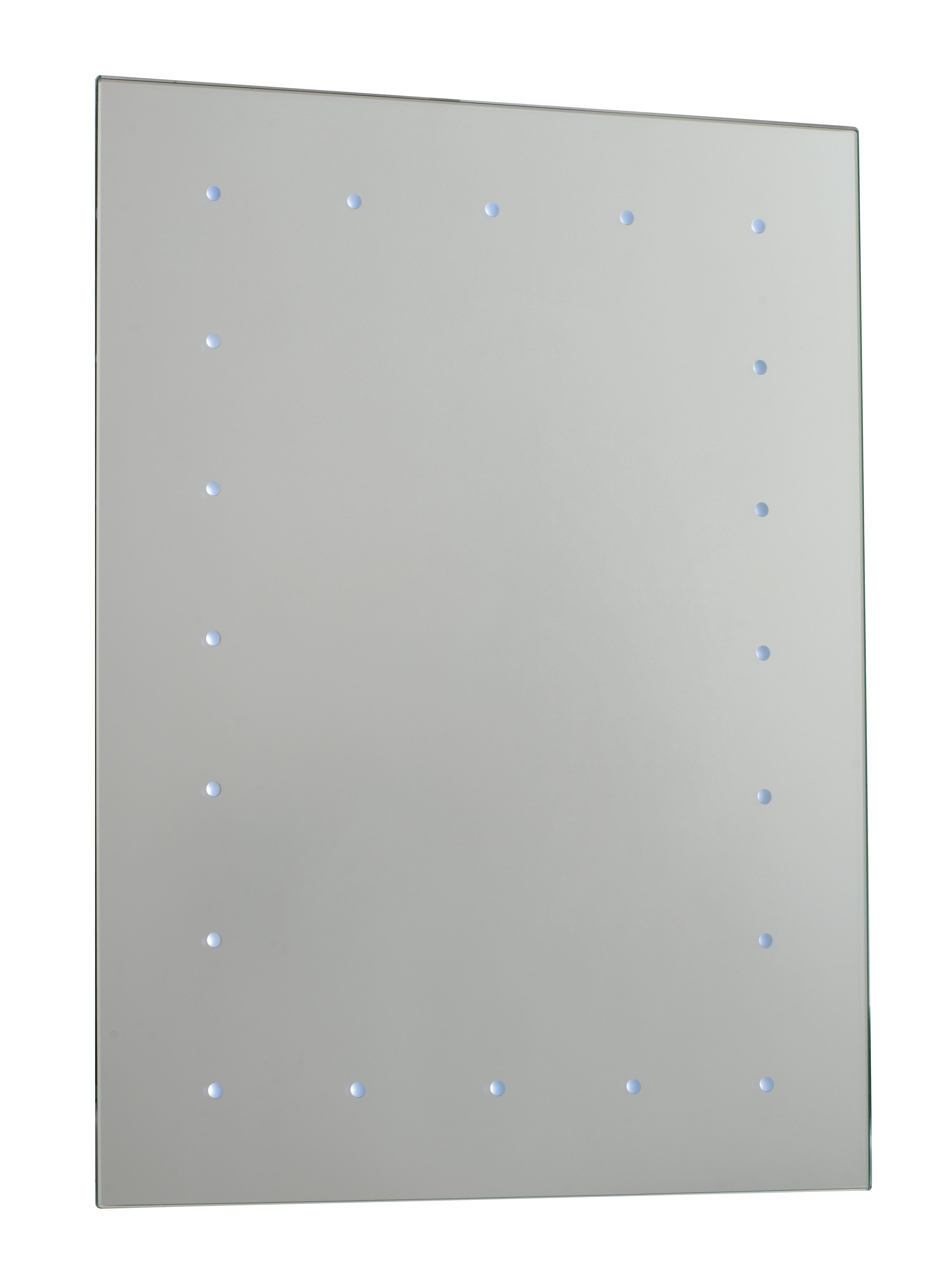 Brilliant Led Wall Mirror Battery Operated Bathroom Mirror Bathroom Ideas
