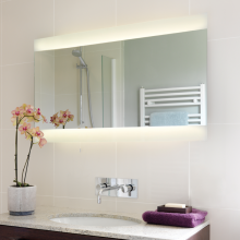 Click to browse Fluorescent Illuminated Mirrors | Bathroom Lighting
