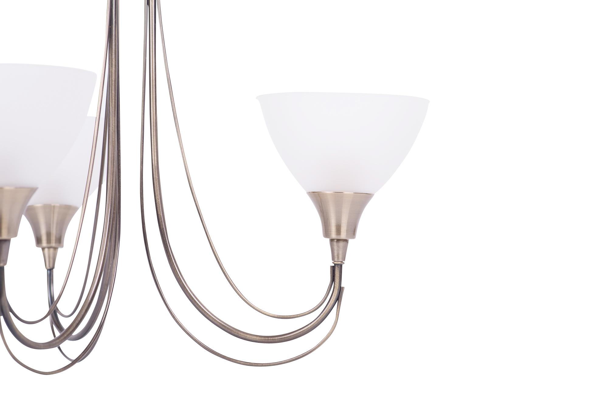 Semi Flush Ceiling Lights Glass Brass Fixture Bathroom: Antique Brass & Frosted Glass 3 Arm Semi Flush Ceiling
