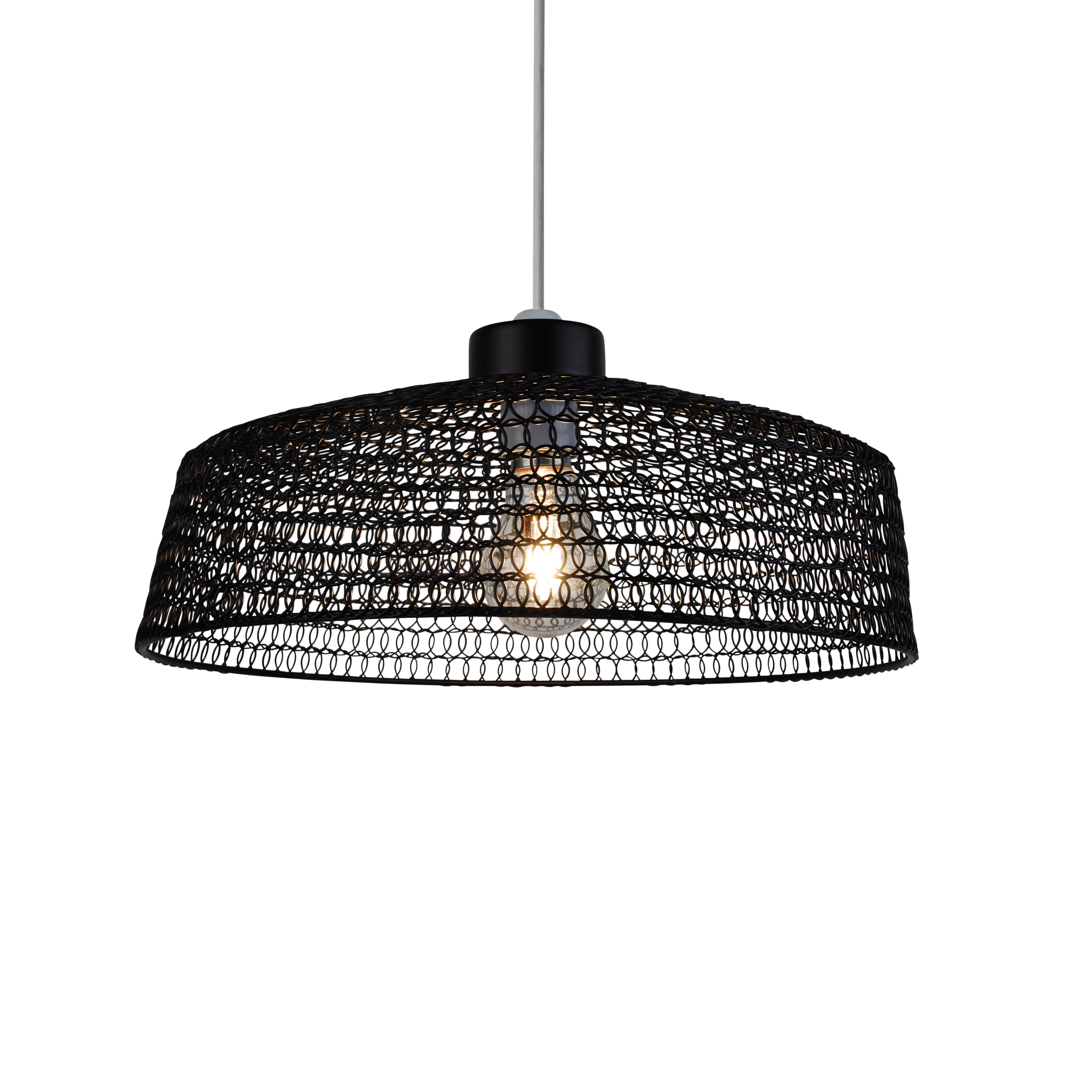 Modern Industrial Style Bronze Black Wire Easy Fit Ceiling