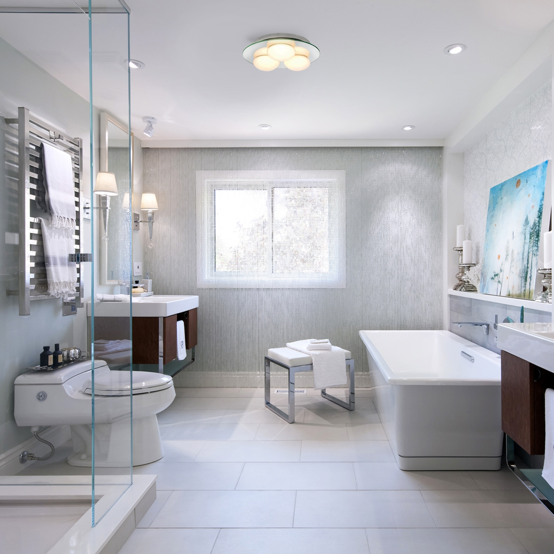 modern silver mirror glass flush bathroom ceiling 3. Black Bedroom Furniture Sets. Home Design Ideas