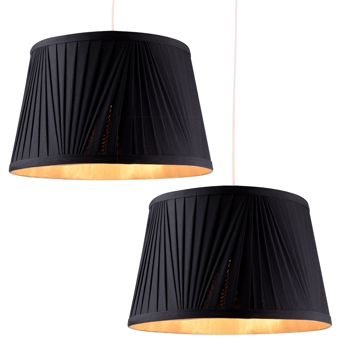 """ENYA BOX PLEAT 10/"""" SHADE IN LIGHT CREAM COLOUR FOR TABLE LAMP OR CEILING"""
