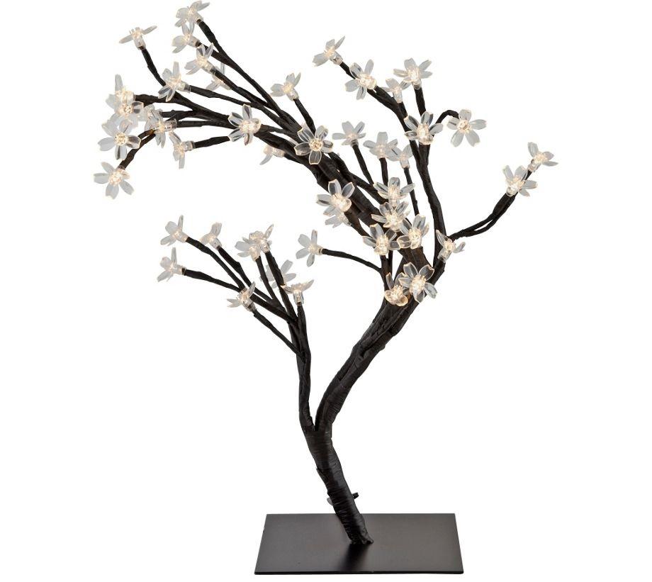 Modern 48 Led Cherry Blossom Roses Bonsai Tree Fairy Twig Lights