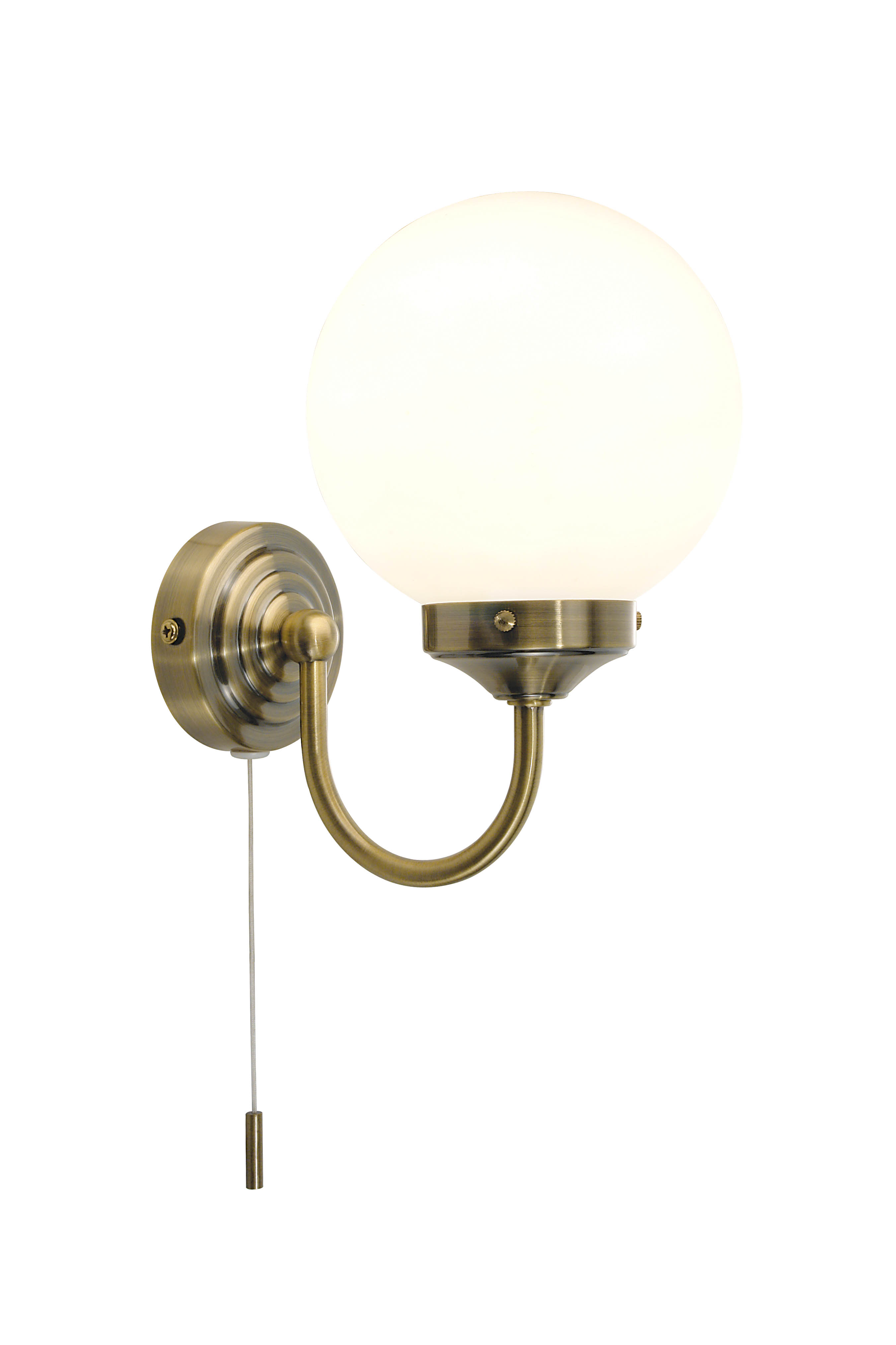 Surprising pull switch wall lights contemporary best image engine antique brass 40w ip44 wall light with pull cord switch aloadofball Image collections