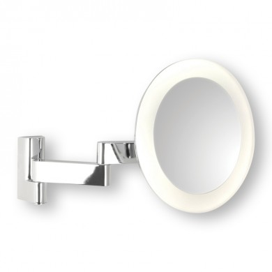 1W LED IP44 Double Insulated Magnifying Mirror