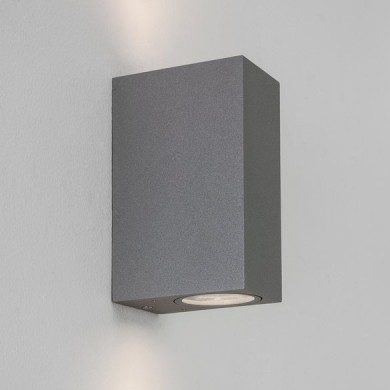 Astro Lighting - Chios 150 1310008 (8196) - IP44 Textured Grey Wall Light