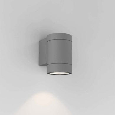 Astro Lighting - Dartmouth Single GU10 1372010 (8537) - IP54 Textured Grey Wall Light