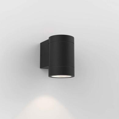 Astro Lighting - Dartmouth Single GU10 1372011 (8538) - IP54 Textured Black Wall Light