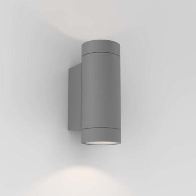 Astro Lighting - Dartmouth Twin GU10 1372013 (8540) - IP54 Textured Grey Wall Light
