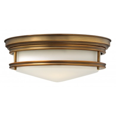 Bronze 100W E27 Flush Light