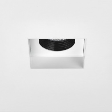 Astro Lighting - Trimless Square Fire-Rated LED 1248012 (5703) - Fire Rated Matt White Downlight/Recessed Spot Light