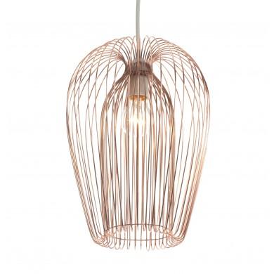 Copper Wire 42W E27 Non Electrified Pendant