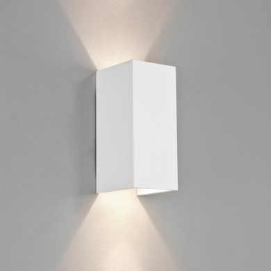 Plaster 8W Twin 2700K LED Wall Light