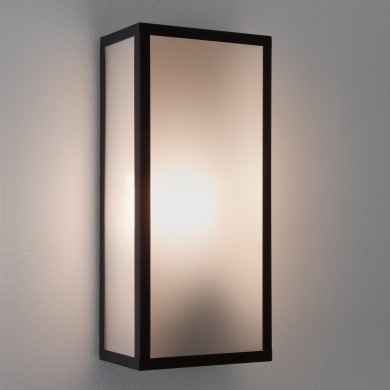 Astro Lighting - Messina Sensor 1183004 (7355) - IP44 Textured Black Wall Light