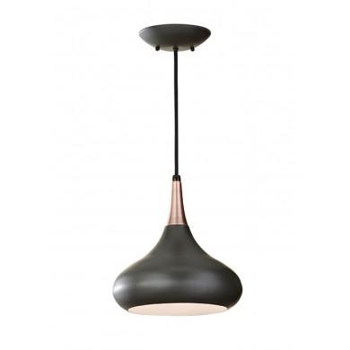 Dark Bronze 60W E27 254 Diameter Single Pendant