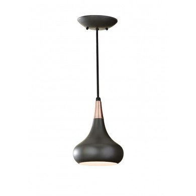 Dark Bronze 60W E27 179mm Diameter Single Pendant