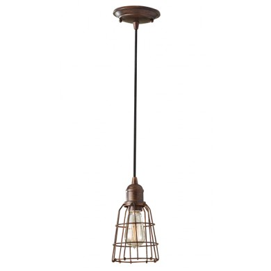 Parisian Bronze 100W E27 Single Pendant