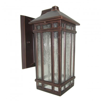 Old Bronze 100W E27 IP44 Garden Wall Light
