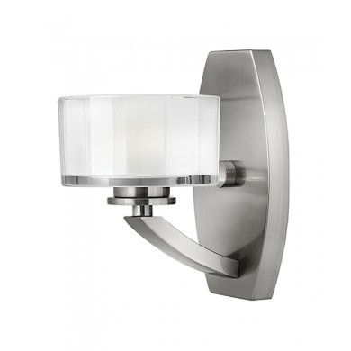 Brushed Nickel 60W G9 Wall Light