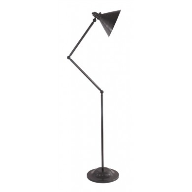 Old Bronze 100W E27 Adjustable Floor Lamp