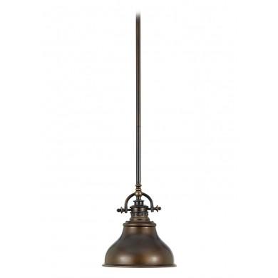 Palladian Bronze 60W E27 203mm Diameter Single Pendant