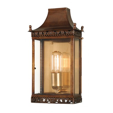 Antique Brass 100W E27 Porch Light