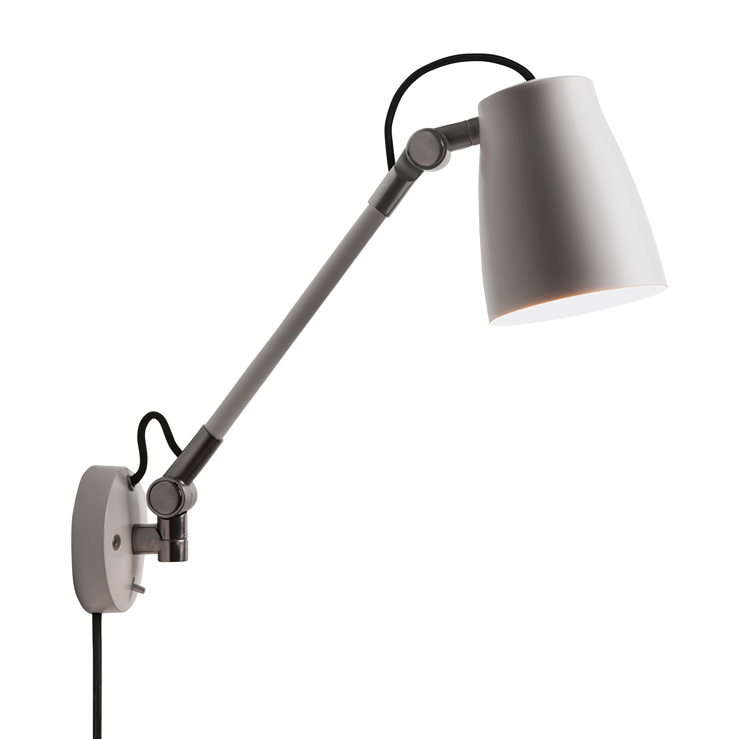 White 28W E27 Wall Mounted Task Lamp
