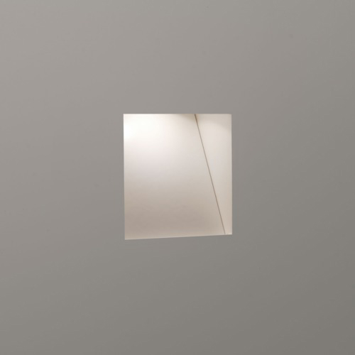 White 2w led recessed wall light aloadofball Image collections