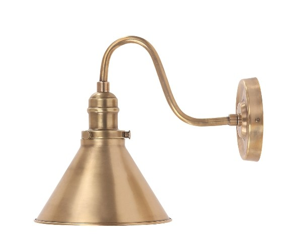 Aged Brass 60W E27 Wall Light Wall Light