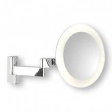 Astro Lighting - Niimi Round LED 1163001 (760) - IP44 Polished Chrome Magnifying Mirror