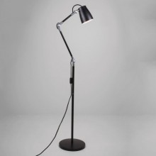 Astro Lighting - Atelier Floor Complete 1224009 (4567) & 1224003 (4561) - Matt Black Floor Light