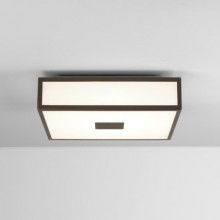 Astro Lighting - Mashiko 300 Square LED II 1121044 (7987) - IP44 Bronze Ceiling Light