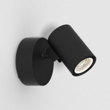 Astro Lighting - Bayville Single Spot 1401005 (8306) - IP65 Textured Black Wall Light