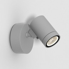 Astro Lighting - Bayville Single Spot 1401006 (8307) - IP65 Textured Grey Wall Light