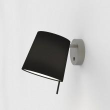 Astro Lighting - Mitsu Wall 1394003 (8406) & 5018032 (4215) - Matt Nickel Wall Light with Black Shade Included