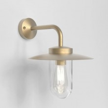 Astro Lighting - Portree Wall 1400001 (8505) - IP44 Natural Brass Wall Light