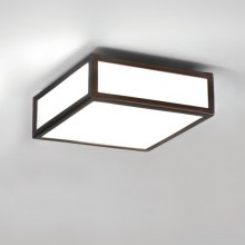 Astro Lighting - Mashiko 200 Square 1121056 - IP44 Bronze Ceiling Light
