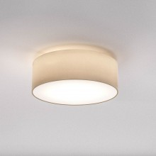 Astro Lighting - Cambria 380 1421002 - Flush Ceiling Light with Putty Fabric Shade Included