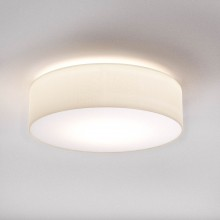 Astro Lighting - Cambria 480 1421004 - Flush Ceiling Light with White Fabric Shade Included