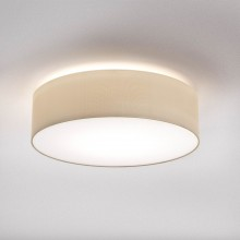 Astro Lighting - Cambria 480 1421005 - Flush Ceiling Light with Putty Fabric Shade Included