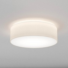 Astro Lighting - Cambria 580 1421007 - Flush Ceiling Light with White Fabric Shade Included