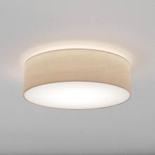 Astro Lighting - Cambria 580 1421008 - Flush Ceiling Light with Putty Fabric Shade Included