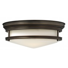 Oil Rubbed Bronze 100W E27 356mm Diameter Flush