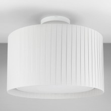 Astro Lighting - Semi Flush Unit 1362004 (7463) & 5016013 (4162) - Textured White Ceiling Light with White Shade Included