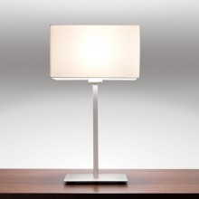 Astro Lighting - Park Lane Table 1080016 (4516) & 5001001 (4001) - Matt Nickel Table Light with White Shade Included