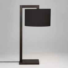 Astro Lighting - Ravello Table 1222009 (4556) & 5016008 (4094) - Bronze Table Light with Black Shade Included