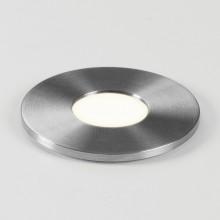 Astro Lighting - Terra Round 28 LED 1201003 (7199) - IP65 Brushed Stainless Steel Ground Light
