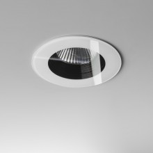 White Dimmable 6W 3000K LED Recessed Downlight