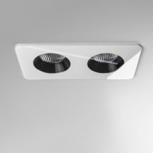 Astro Lighting - Vetro Twin 1254015 (5748) - IP65 White Downlight/Recessed Spot Light