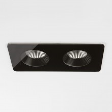 Astro Lighting - Vetro Twin 1254018 (5756) - IP65 Black Downlight/Recessed Spot Light